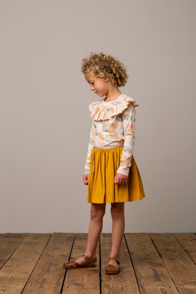 MARMAR COPENHAGEN Sus skirt golden toddlers.no