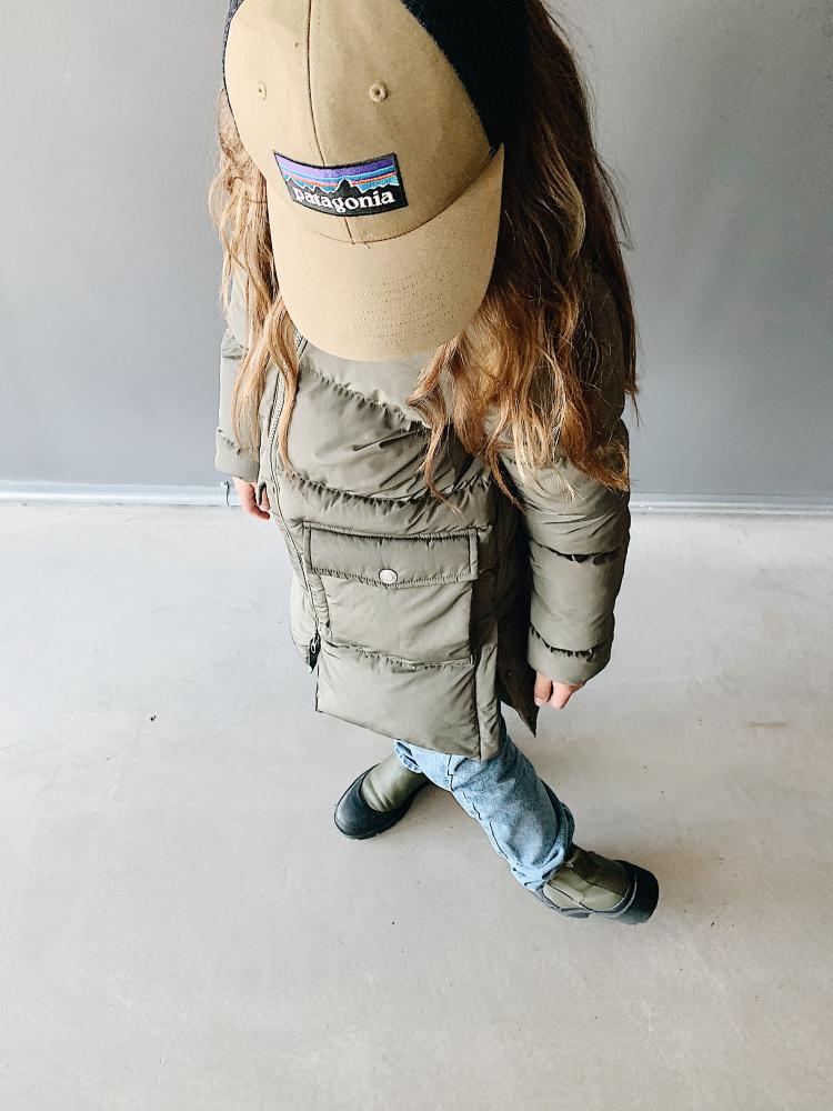 I DIG DENIM Clay long puffer jacket Dark green toddlers.no